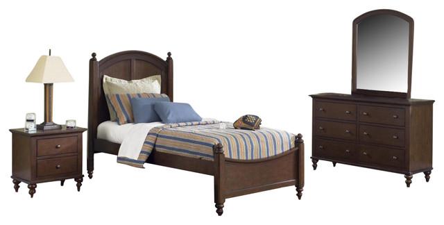 Liberty Abbott Ridge Bedroom Set With Full Bed.