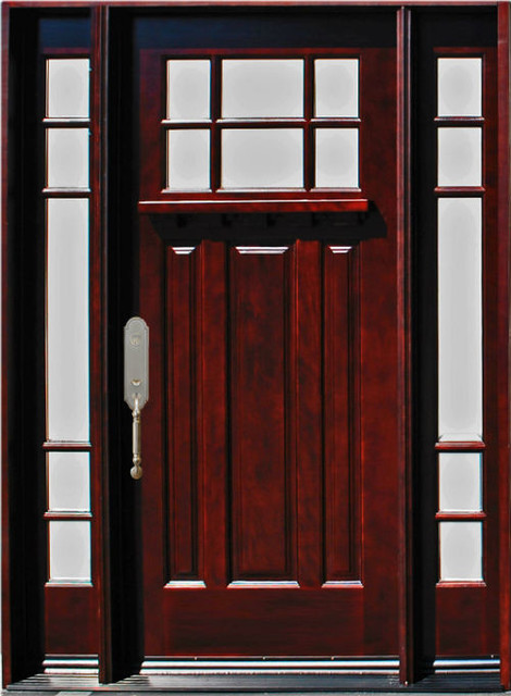 Exterior Front Wood Door M31 1d 2sl 12 36 X80