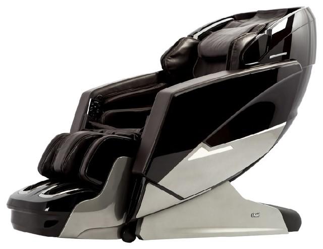 Osaki OS Pro Ekon 3D L Track Massage Chair With Zero Gravity, Foot Roller,  Black   Contemporary   Massage Chairs   By Easymassagechair