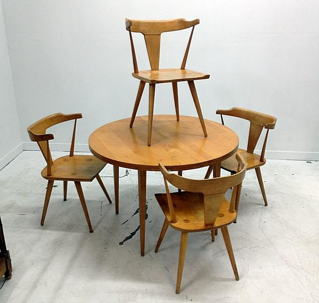 Antiques Moderne For Mid Century Consignments Modern Dining Tables Dallas By Antiques