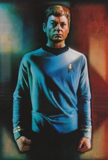 Star Trek, Dr  Mccoy Print - Midcentury - Prints And Posters - by