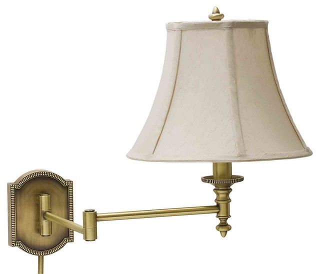 Contemporary Wall Lamps Swing Arms : House of Troy WS761 Arm Sconce - Contemporary - Swing Arm Wall Lamps - by Littman Bros Lighting