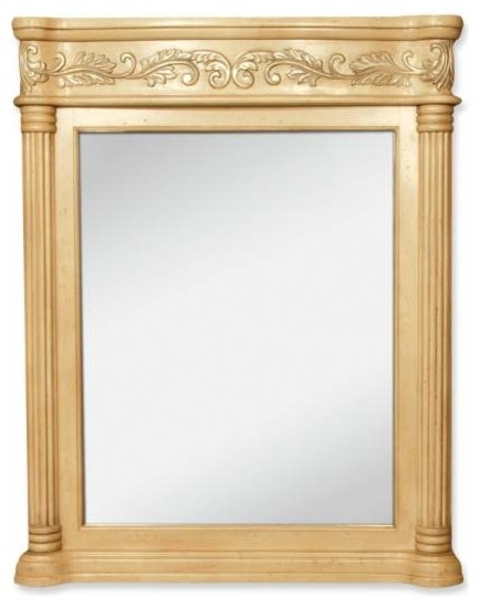 victorian style mirrors for bathrooms lyn design antique ornate 33 11 16 x 42 antique white 24489