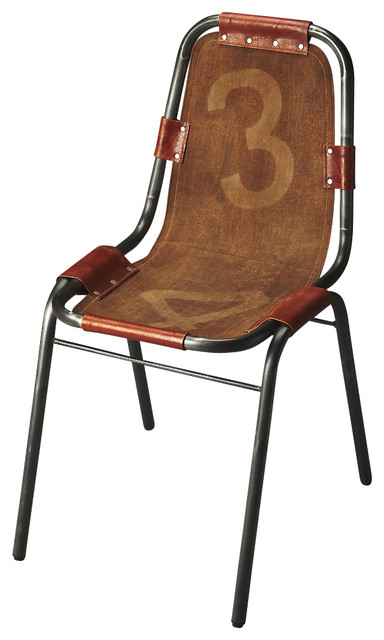 Butler Industrial Chic Shelton Vintage Side Chair Industrial Dining Chairs