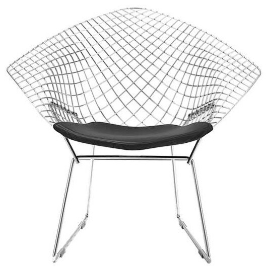 Awe Inspiring Bertoia Diamond Chair By Knoll Polished Chrome Alphanode Cool Chair Designs And Ideas Alphanodeonline
