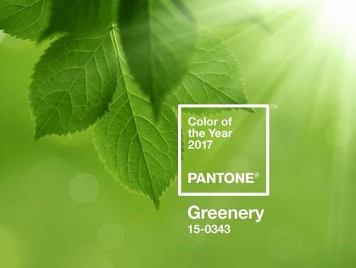 2017 Greenery