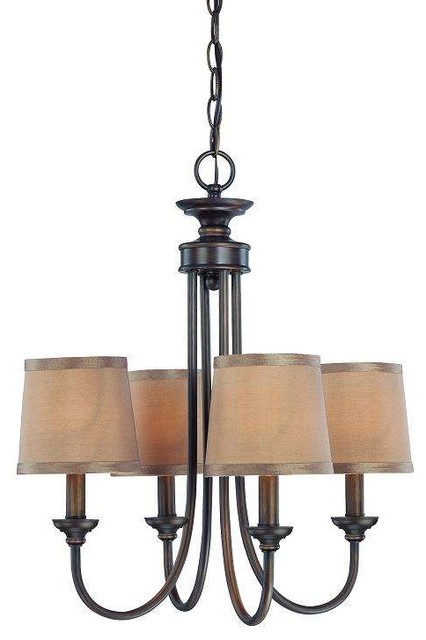 jeremiah lighting 26124 spencer chandelier transitional