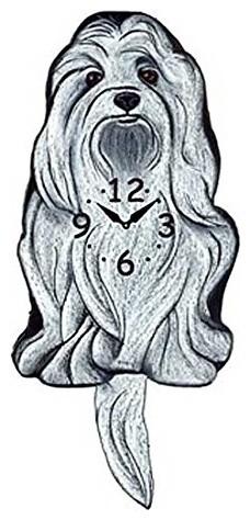 Pink Cloud, Maltese Swinging Pendulum Clock