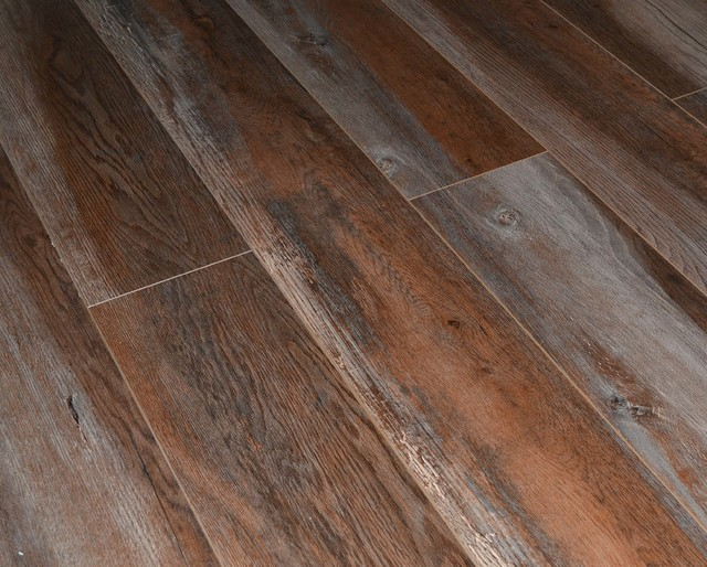 Dekorman Premium AC4 Laminate Flooring, 13.28 Sq. ft., Gray Ash Oak