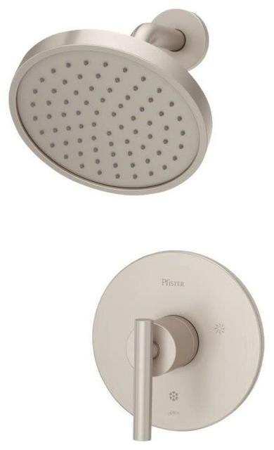 Pfister LG89-7NC Contempra Single Handle Shower Trim Package - Nickel