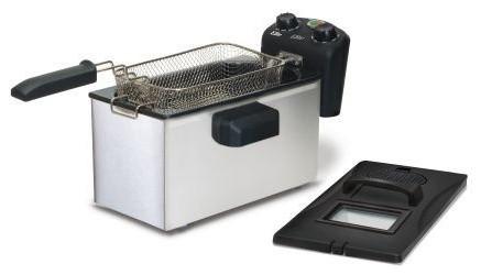 Elite Gourmet Edf, 3500 3.5, Quart Immersion Deep Fryer.