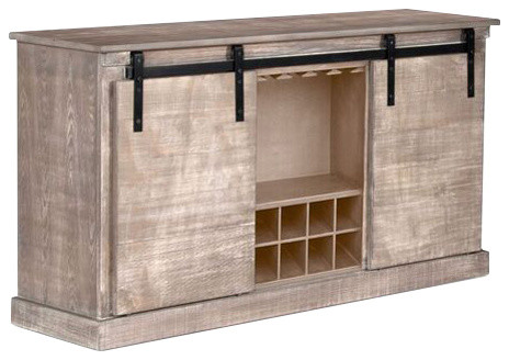 Barn Door TV Console - Farmhouse - Entertainment Centers And Tv Stands - by Sunny Designs, Inc.