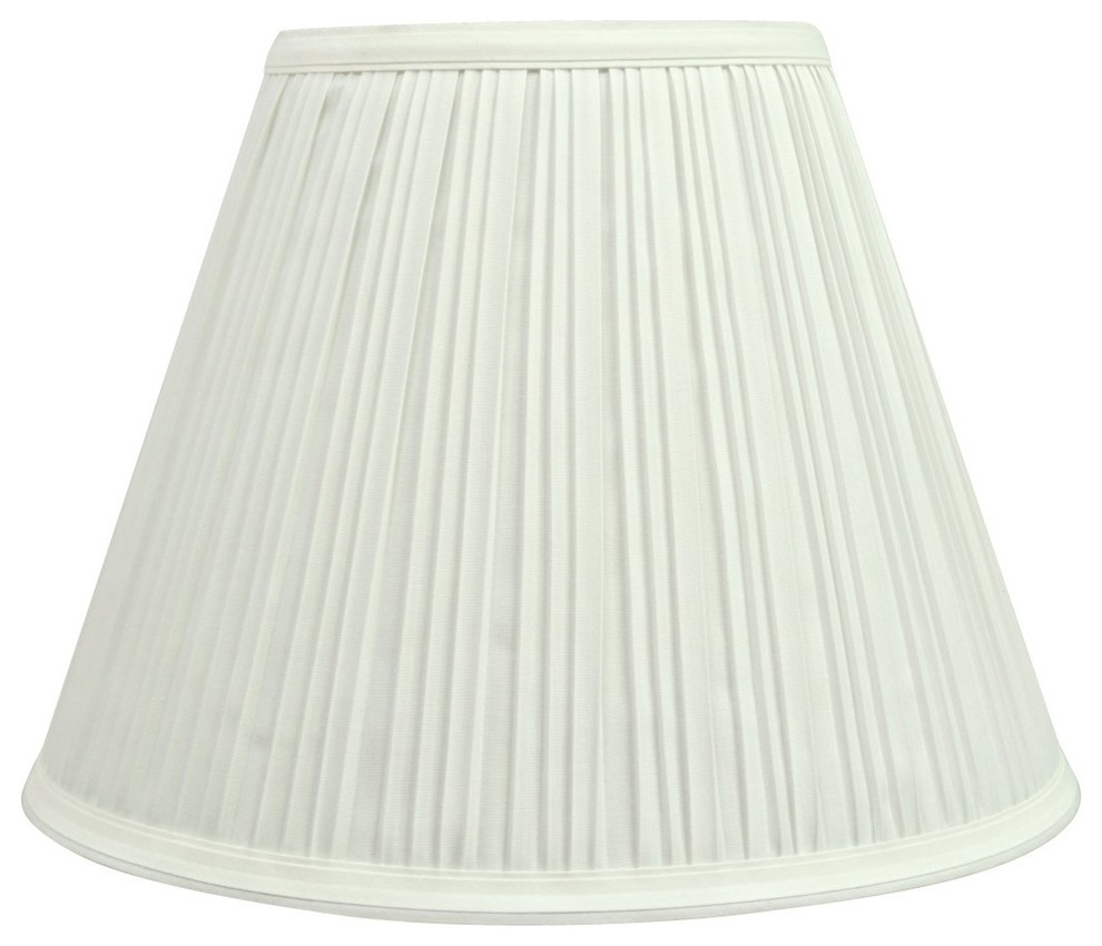 Aspen Creative 32200 Transitional Hardback Empire Shaped Spider Construction Lamp Shade in Off White , 6 x 12 x 9 12 Wide