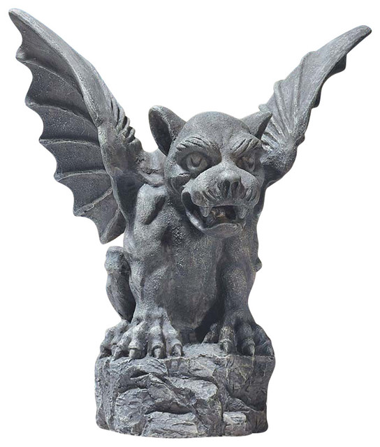 Large Florentine Gargoyle Traditional Garden Statues And Yard Art By Xoticbrands