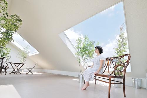 atico de una casa japonesa en okazaki en diariodesign