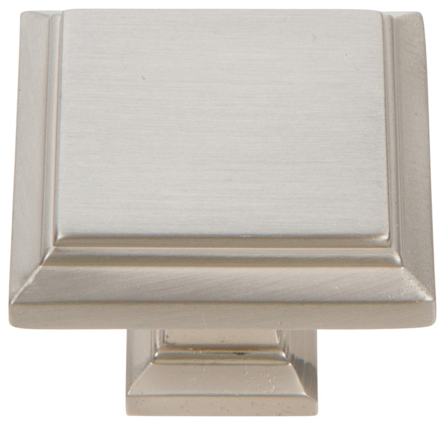 Atlas Homewares Sutton Place Square Knob - Transitional - Cabinet And Drawer Knobs - by Knobs ...