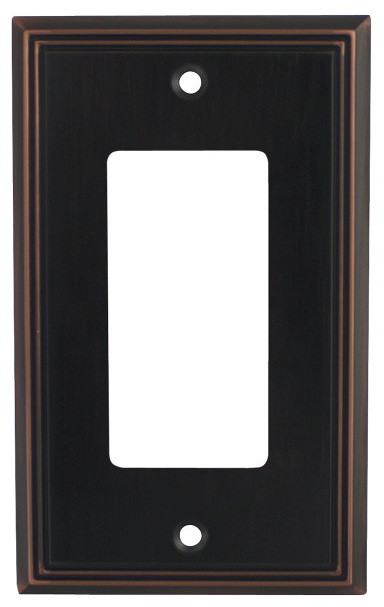 Cosmas Decorative Wall Plates Outlet Cover Oil Rubbed Bronze 65000 Series
