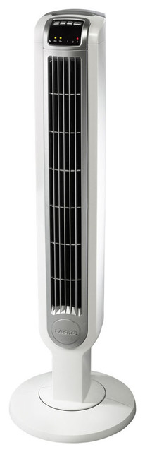 "36"" Tower Fan With Remote Control, White."