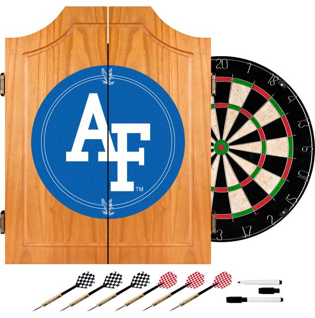 NCAA Wood Dart Cabinet Set - Contemporary - Darts And ...