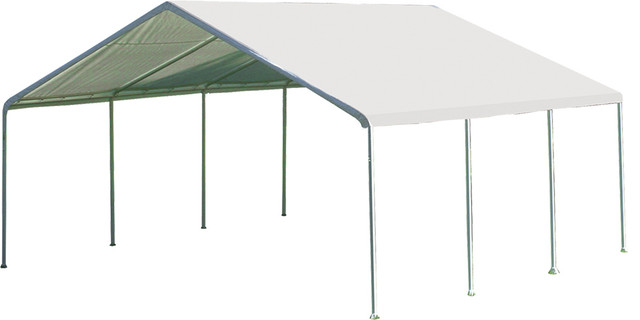 Shelterlogic Outdoor Travel Outdoor Travel Canopy 18x20 Ft, White.
