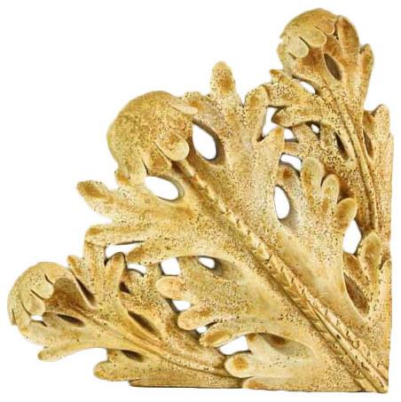 Leaf Accent 15, Architectural Friezes,Traceries & Tiles