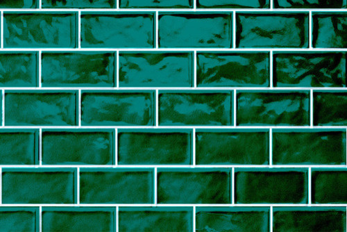 Dark Green Kitchen Wall Tiles
