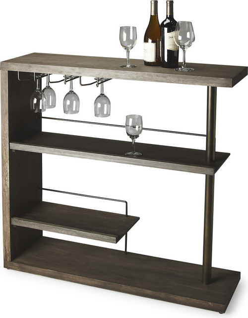 ... Dawn Finish - Contemporary - Wine And Bar Cabinets - by HedgeApple