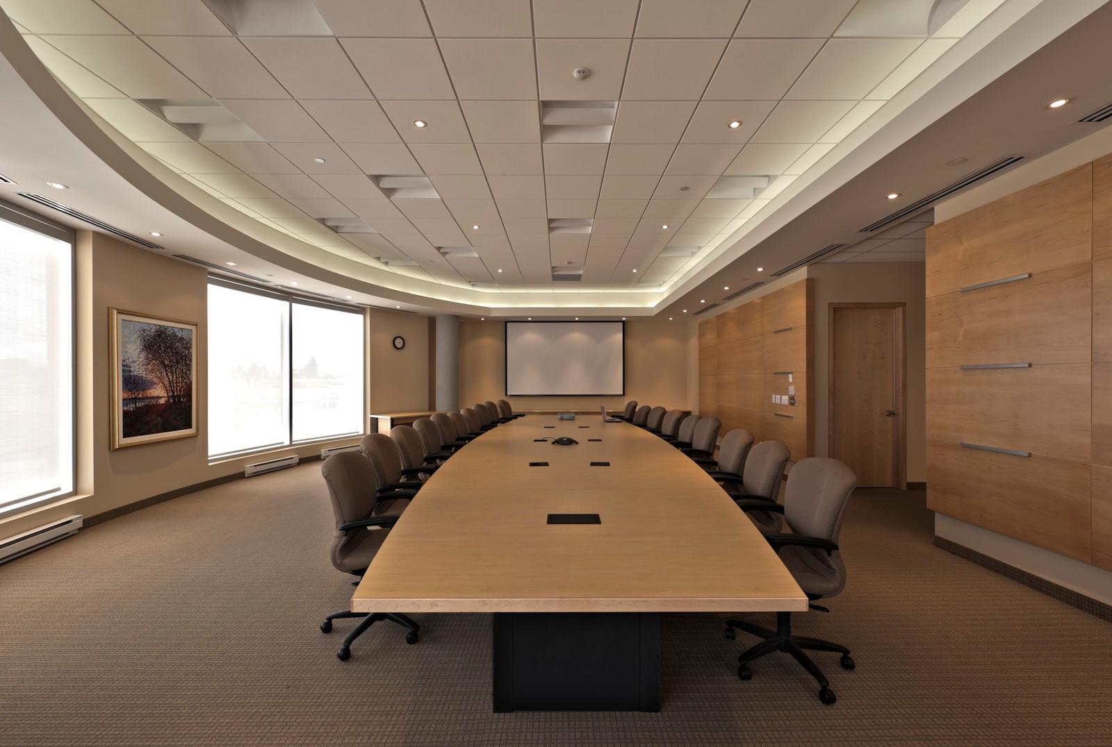 Accreditation Canada lobby and boardroom