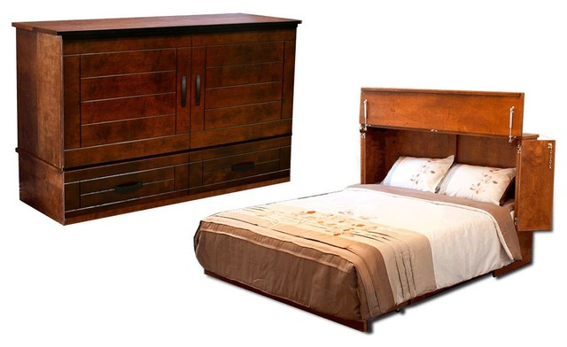 Metro Full Cabinet Bed Cojoba (Murphy Bed) by CabinetBed ...