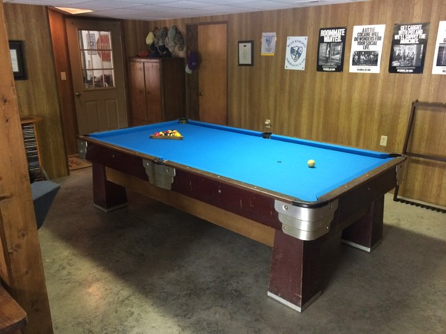 Brunswick Billiards Pool Table Installs Midcentury Charlotte - Brunswick century pool table