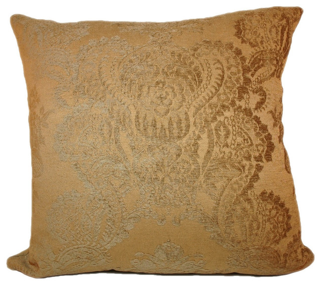 Tinsley Pillow, 22x22 - Contemporary - Decorative Pillows - by Peter Taube Home