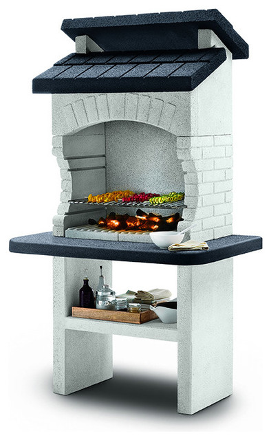 Palazzetti Olbia Barbecue Outdoor Cooking Grill By Paini.