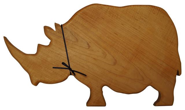 Rhinoceros Cutting Hard Maple Cutting Board