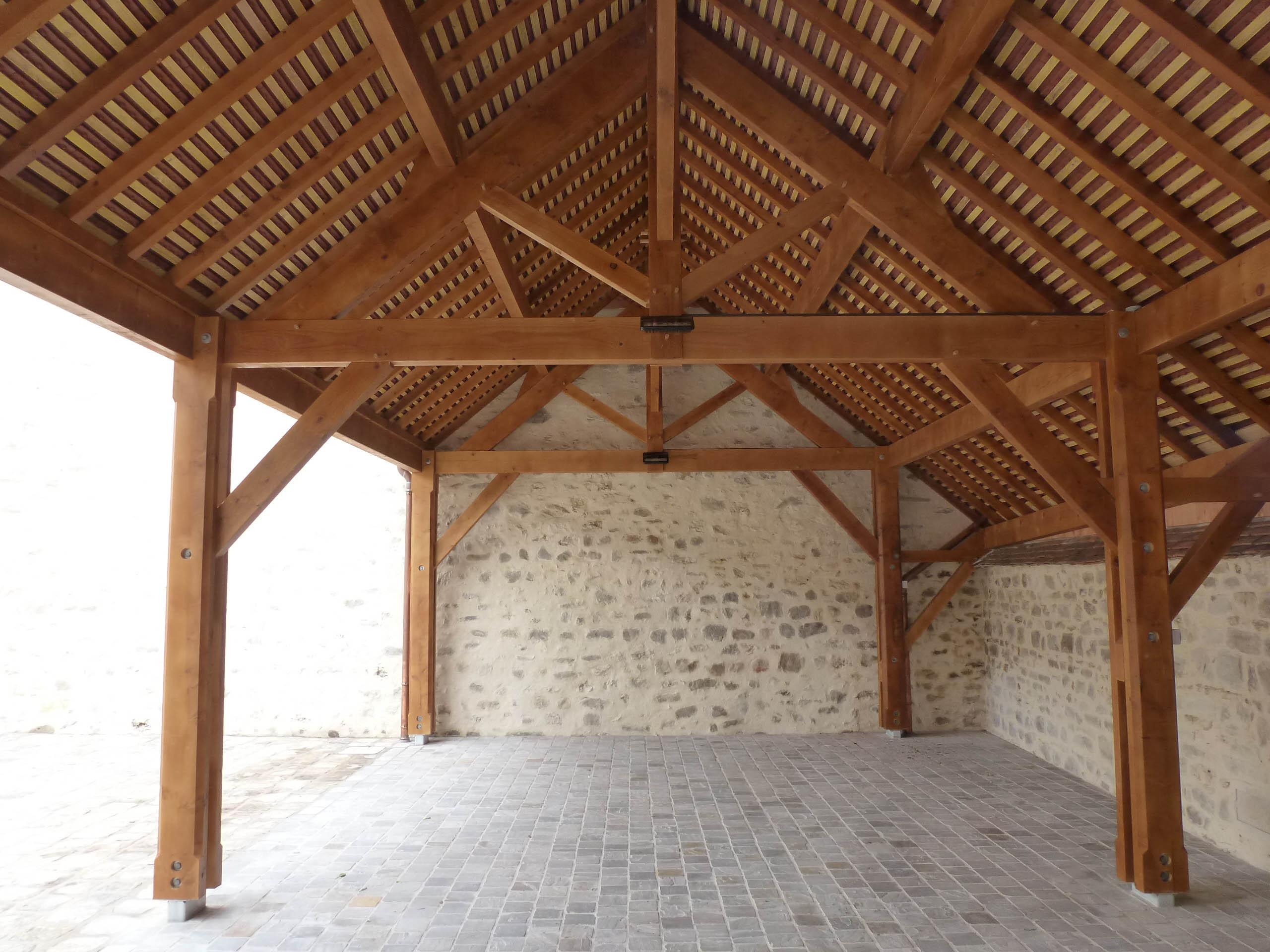 Foyer rural municipal - Préau et Cour
