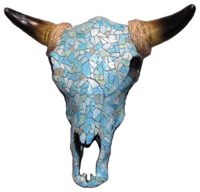 Mosaic Skull.