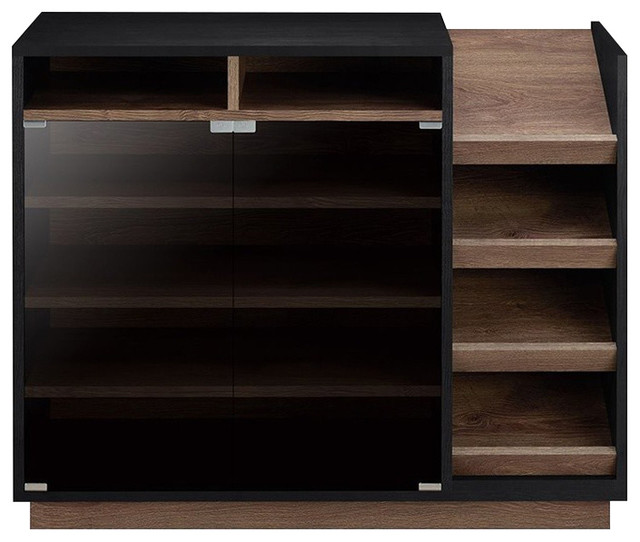 Furniture Of America Nostrom Shoe Cabinet Transitional Storage By Homesquare