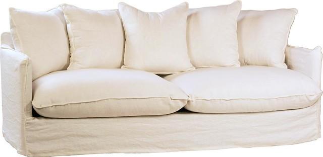 Swindon Hardwood Frame 1000% Linen Sofa
