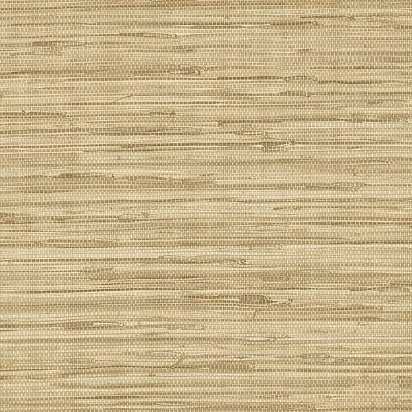 Faux Grasscloth Pattern Wallpaper NT33704 tan solid vinyl scrubbable prepasted