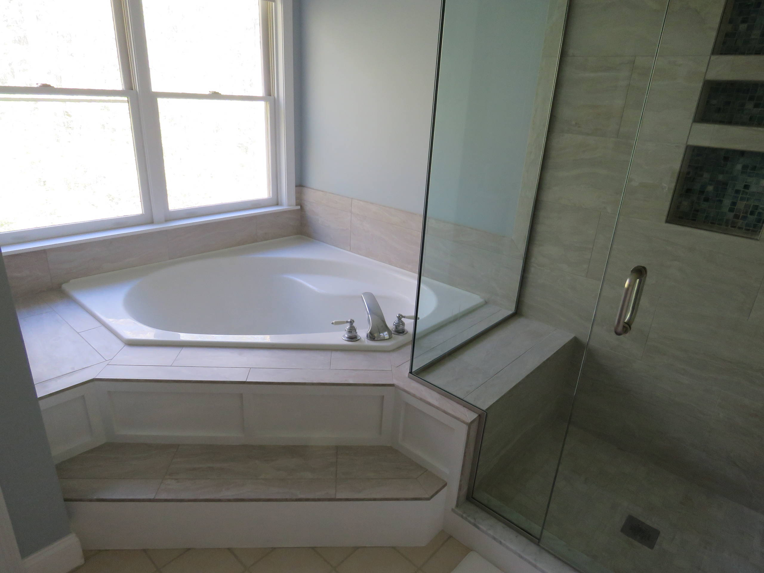 Transitional Master bath update