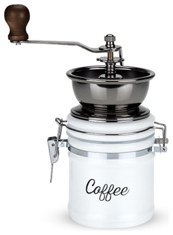 Country Cottage Ceramic Coffee Grinder.