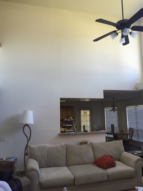 Very Tall Bare Walls