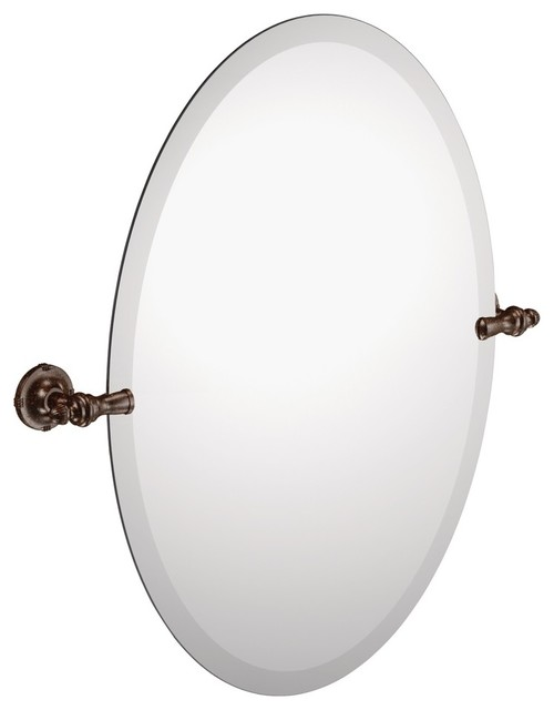 Regal White Distressed Wall Mirror