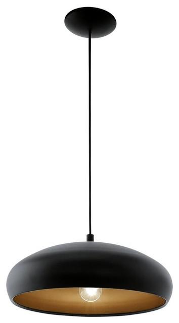 Mogano Pendant Light, Black