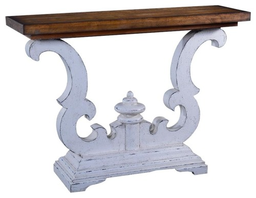 Console Table Cambridge Heavy Scroll Design