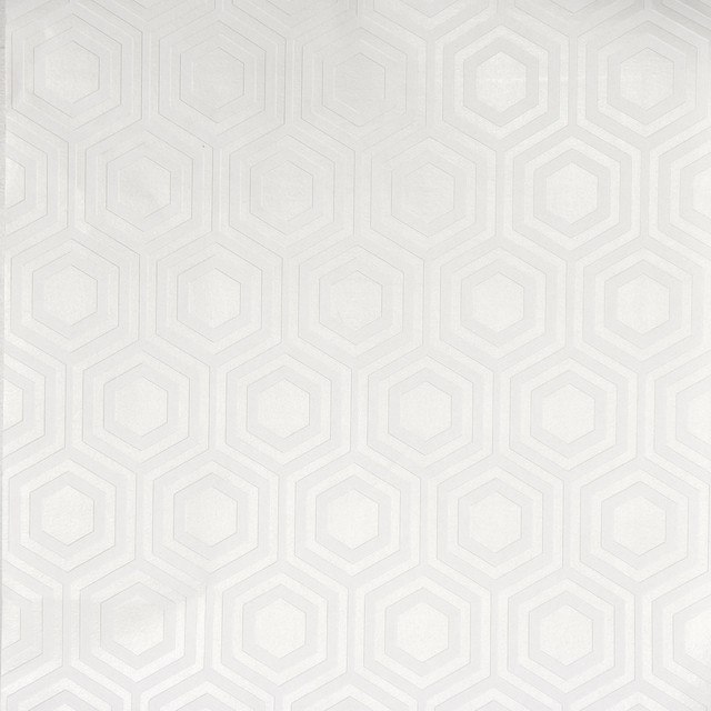 Hive Paintable Geometric Wallpaper - Contemporary