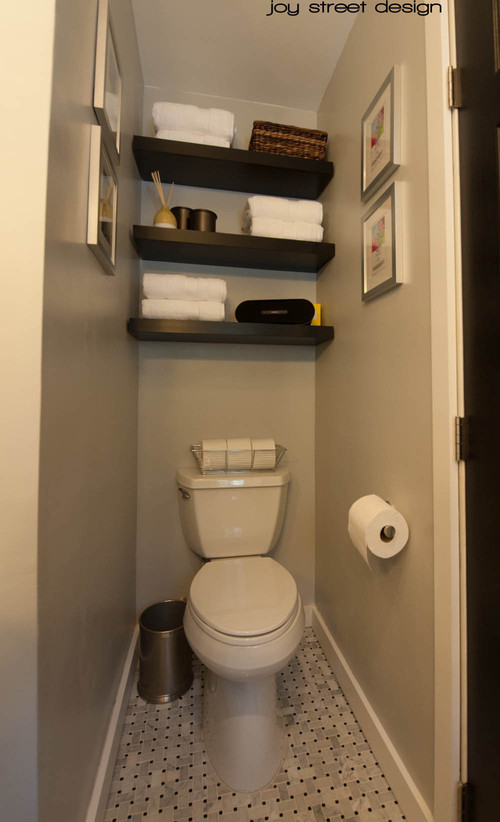 Toilet Alcove Shelves
