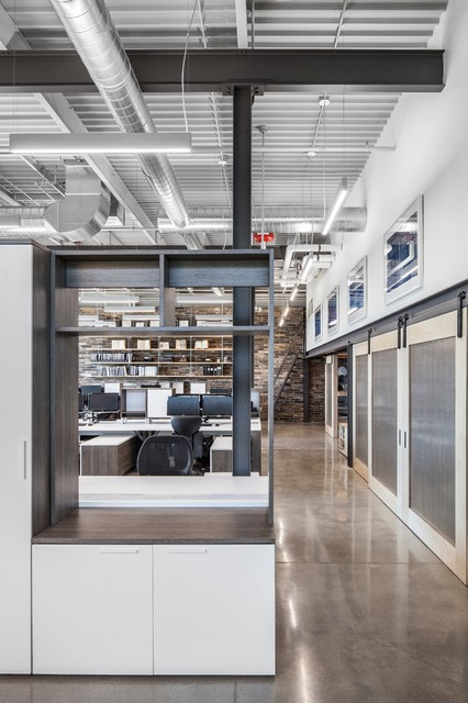 Architectural Office Space midcentury
