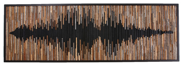 Carpentercraig Wood Wall Art Abstract Sound Wave