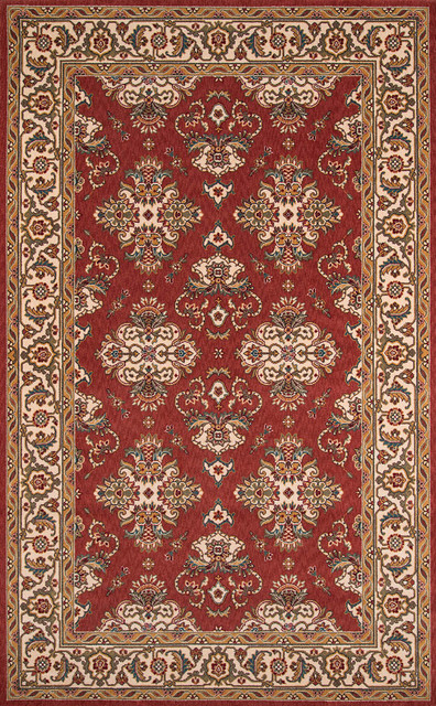 Momeni Persian Garden Pg 01 Rug Salmon Traditional Area Rugs