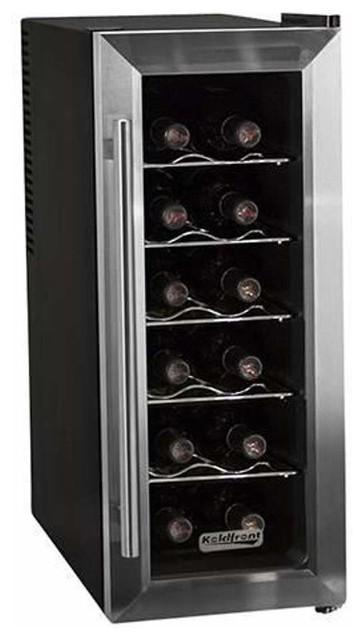 Koldfront Twr121 10 Wide 12 Bottle Wine Cooler.